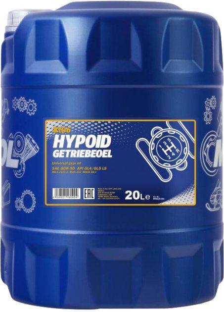 Трансмиссионное масло Mannol Hypoid Getriebeoel 80W-90 20 л (260/5) - изображение 1