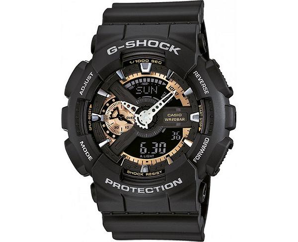 Чоловічий годинник Casio G-Shock GA-110RG-1AER - зображення 1