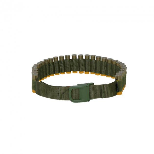 Патронташ бандольера ремень DANAPER CARTRIDGE BELT, 30 bullets Чорний - изображение 1