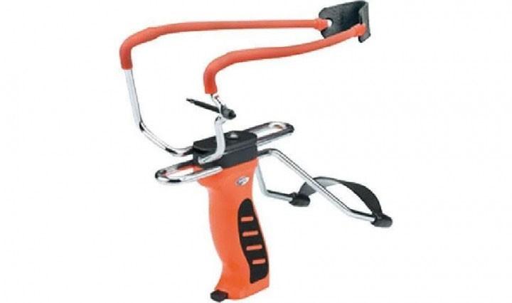 Рогатка Man Kung MK-SL06O с упором ц: оранжевый - изображение 1