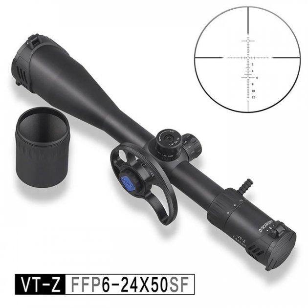 Оптичний приціл Discovery VT-Z 6-24x50 SF FFP - зображення 1