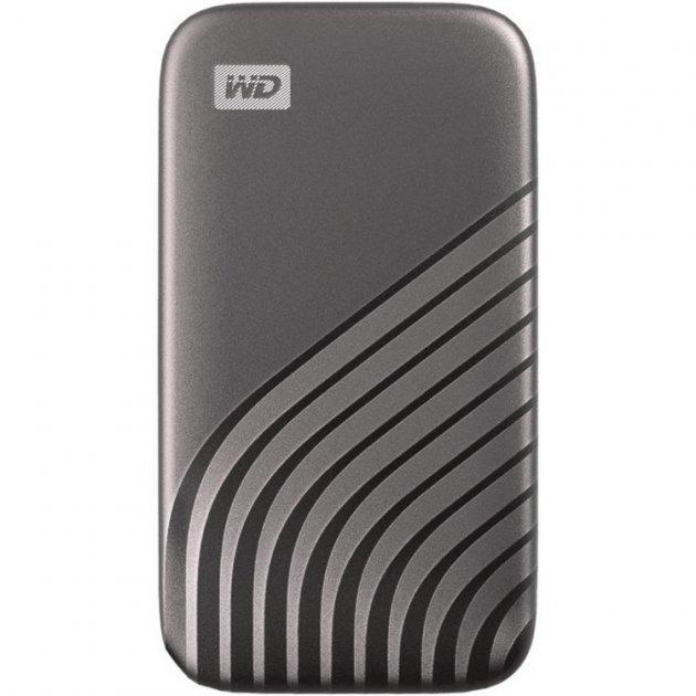 USB SSD накопичувач WD My Passport SSD 1TB USB3.2 Space Gray (WDBAGF0010BGY-WESN) - зображення 1
