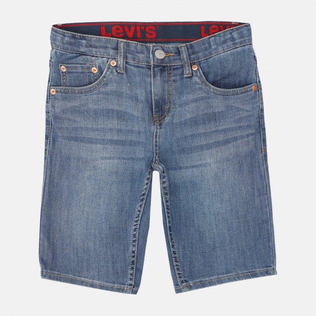 Шорты джинсовые Levi's Fashion LW Performence Short 9EC770-M0R 134-140 см Синие (3665115329483)