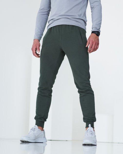 Спортивные штаны тонкие GR8 active wear модель 61т3-хаки-браш размер XL - изображение 1