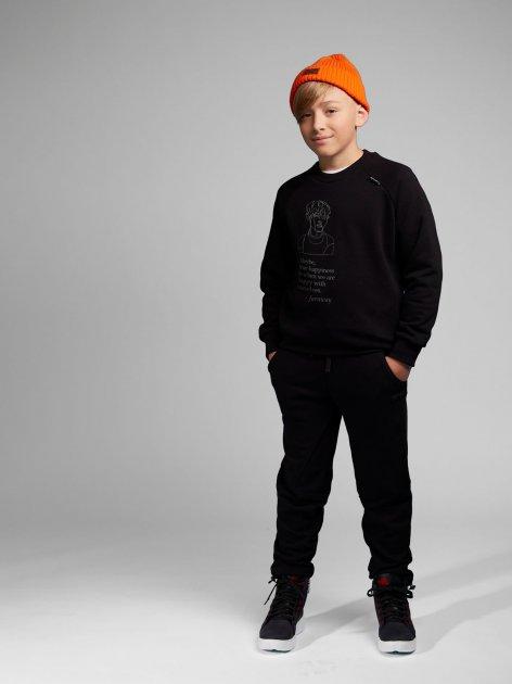 Спортивные штаны Овен OV2U 21Ш-658ч 122 см Черные (ROZ6400028930) - изображение 1