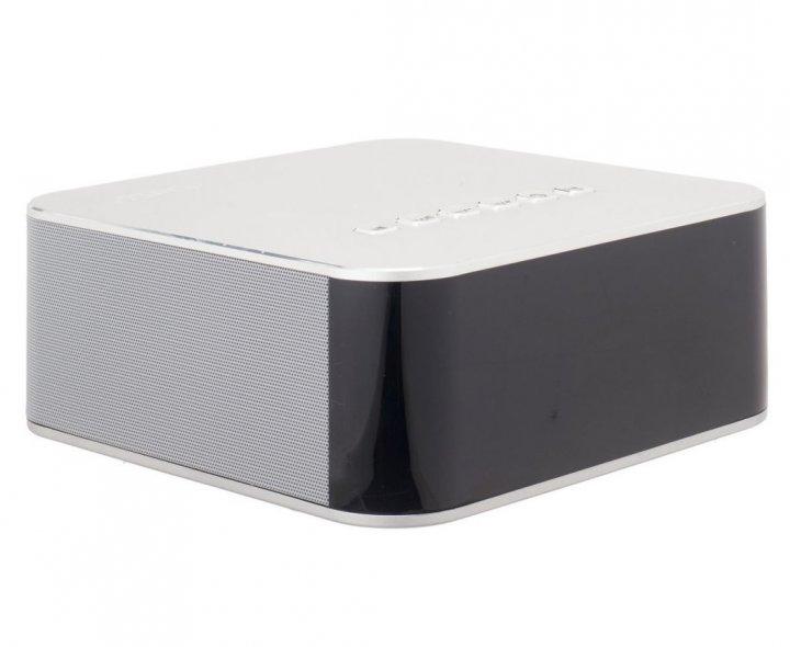 Портативная колонка Bluetooth с часами и будильником Aspor A660 Silver - зображення 1