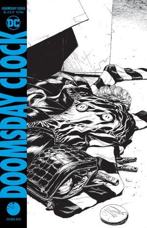 Doomsday Clock #2 Cover D 3rd Ptg Variant Gary Frank Cover - зображення 1