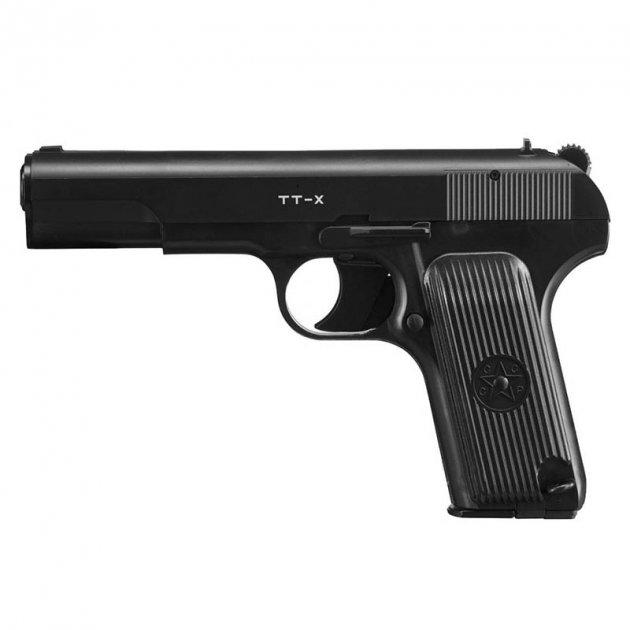 Пістолет пневматичний Borner TT-X Токарєв (4,5 мм) - зображення 1