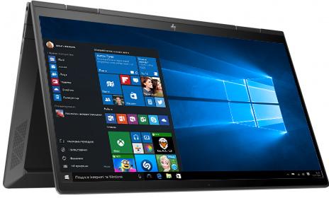 Ноутбук HP Envy x360 Convertible 13-ay0018ua (423U4EA) Nightfall Black - зображення 1