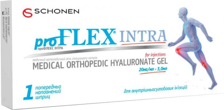 ПроФлекс Интра гель для иньекций (гиалуронат натрия) 20 мг/мл 1 шприц 3 мл (7640158262283) - изображение 1