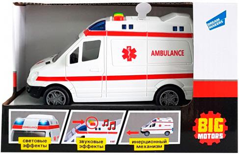 Игрушка Big Motors Машинка скорая помощь (4812501165302) - изображение 1