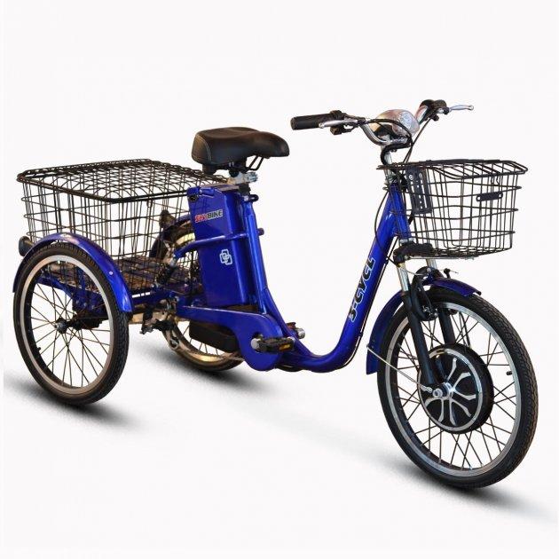 Електровелосипед (трицикл) Skybike 3-Cycle синій - зображення 1
