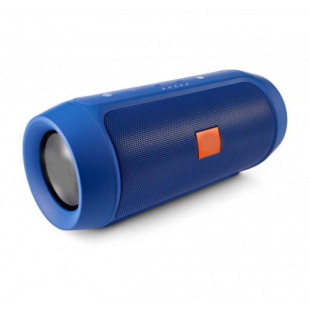 Портативная bluetooth колонка стерео колонка T&G Charge 2 Синяя (Charge 2 Blue) - изображение 1
