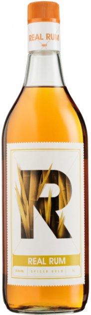 Ром Real Rum Spiced 1 л 37.5% (8438001407832) - зображення 1