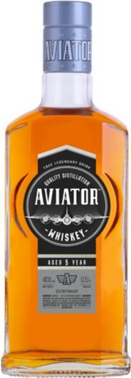 Виски Выдержанный Aviator 0.5 л 40% (4820136353483) - изображение 1