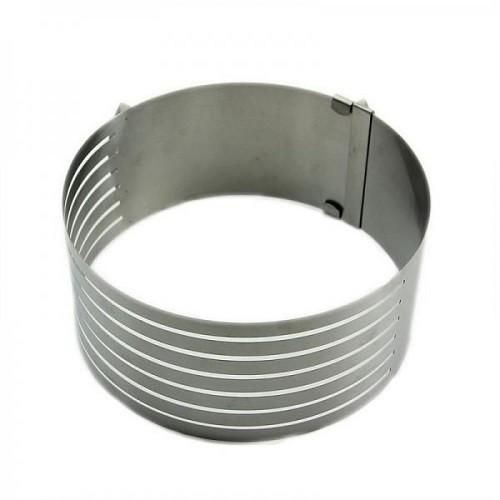 Розсувна кругла форма для випічки висота 8 см (20009) - зображення 1