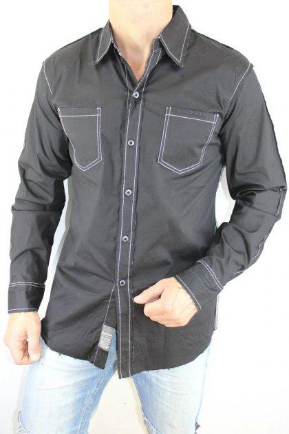 Рубашка B-Star 441 черная 3XL - изображение 1