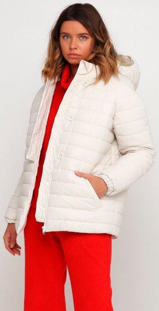 Куртка ANNA YAKOVENKO 2483 XXS Белая (ROZ6206117097) - изображение 1