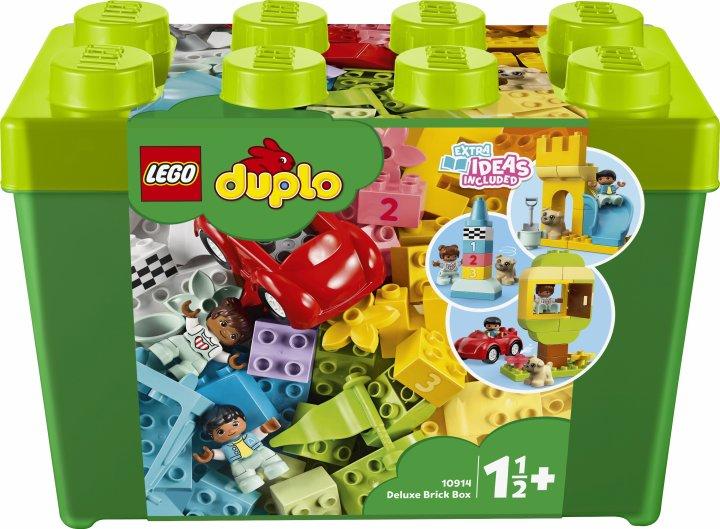 Конструктор LEGO DUPLO Classic Большая коробка с кубиками 85 деталей (10914)
