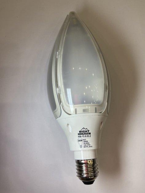 Лампа светодиодная LED Right Hausen Platinum MAGNOLIA 36W, Е27, 5000К, 15.8.03.2 - изображение 1
