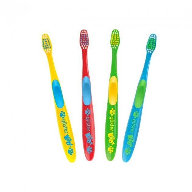 Зубная щетка Amway Glister kids для детей 4 шт. - изображение 1