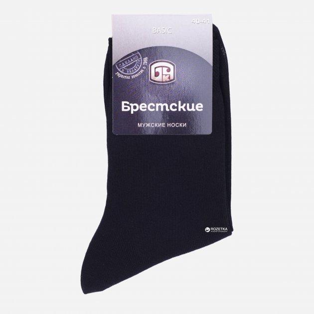 Шкарпетки Брестські 2224 Basic 000 25 Чорні (4810089344980) - зображення 1