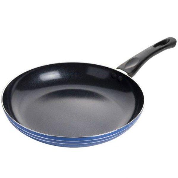 Сковорода антипригарная d24см Синий Stenson (MH-0335bl) - изображение 1