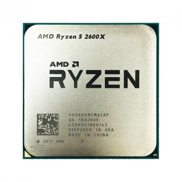 Процессор AMD Ryzen 5 2600X 3.6-4.2 GHz (YD260XBCM6IAF) AM4 TRAY - изображение 1
