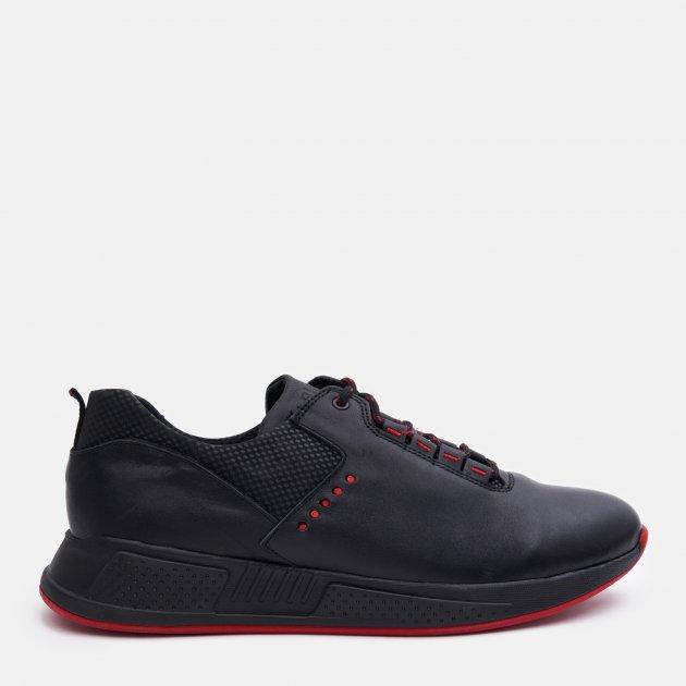 Кроссовки Fabiani 129-1-1 42 27 см Черные с красным (2100000224715) - изображение 1