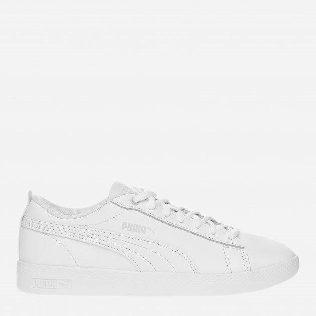 Кеды Puma Smash Wns V2 L 36520804 40.5 (7) 26 см White-White (4059505054021) - изображение 1
