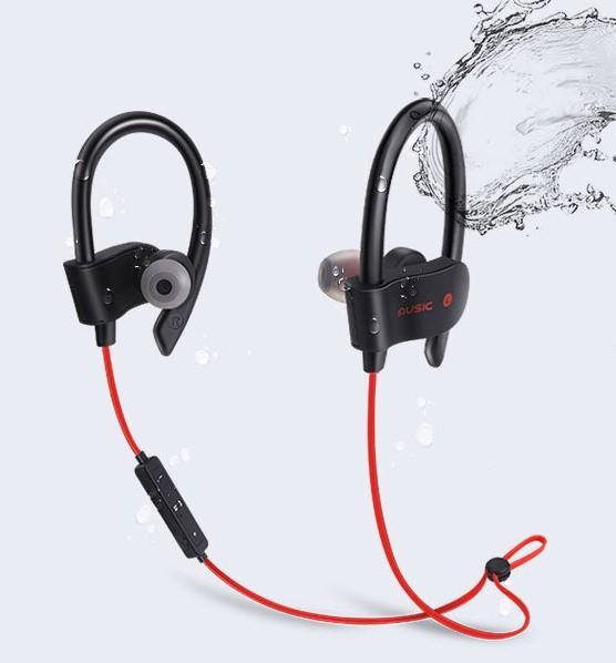 Спортивні блютуз навушники Bakeey S4 Чорний Bluetooth 4.1 (0611204214) - зображення 1
