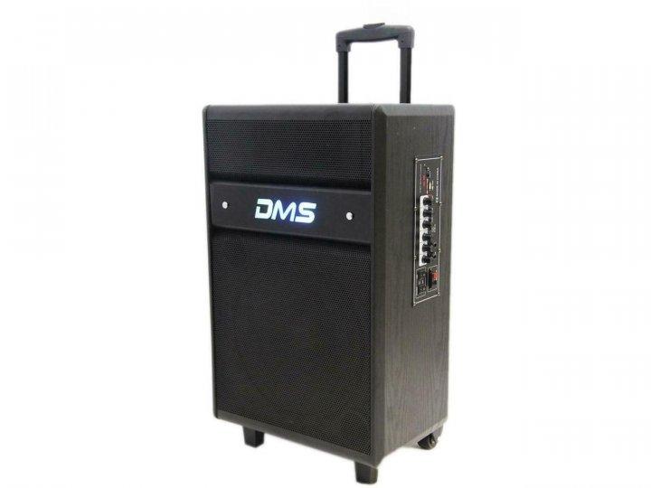 Колонка акумуляторна DMS K10-12MS Bluetooth, USB, MP3, Wireless LED - зображення 1