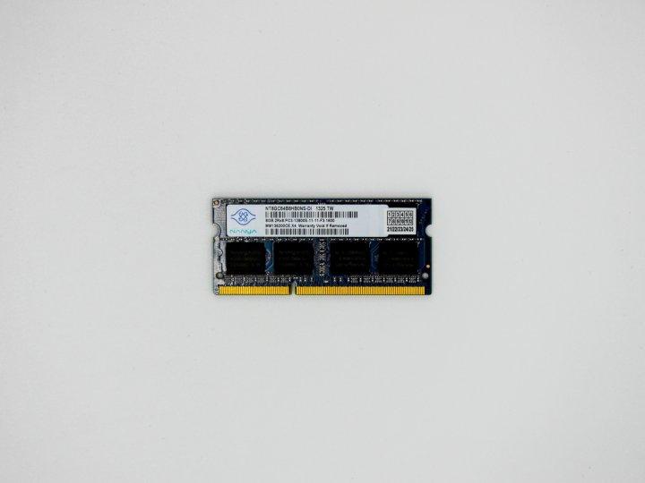 Оперативна пам'ять Nanya SODIMM 8Gb DDR3-1600MHz PC3-12800 CL11 (NT8GC64B8HB0NS-DI) Refurbished - зображення 1