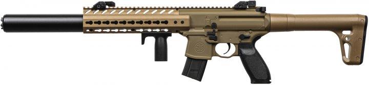 Пневматична гвинтівка Sig Sauer MCX FDE калібр 4.5 мм (AIR-MCX-177-88G-30-FDE) - зображення 1