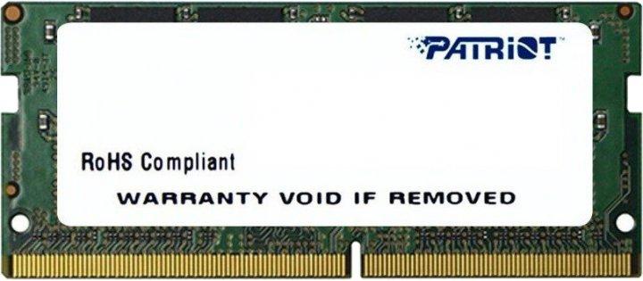 Оперативная память Patriot SODIMM DDR4-2400 8192MB PC4-19200 Signature Line (PSD48G240081S) - изображение 1