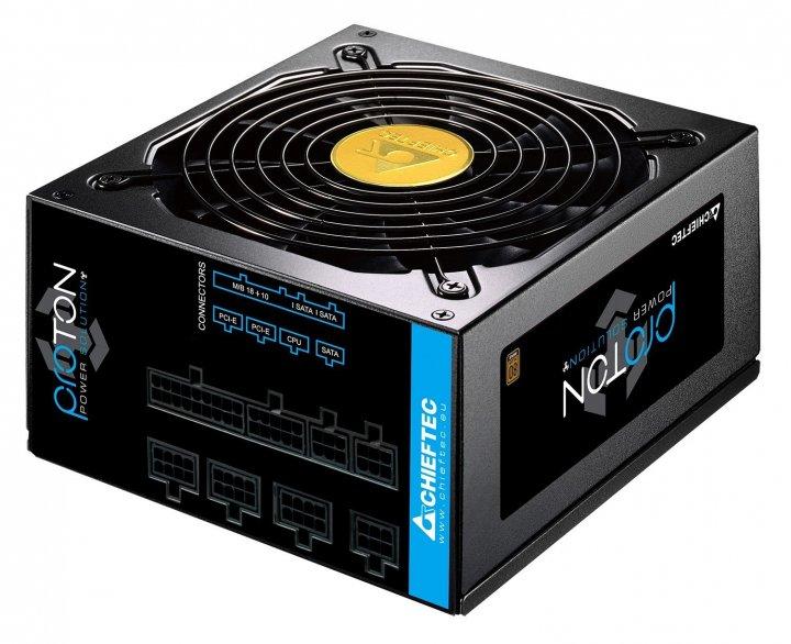 Блок живлення модульний Chieftec 850Вт BDF-850C - зображення 1