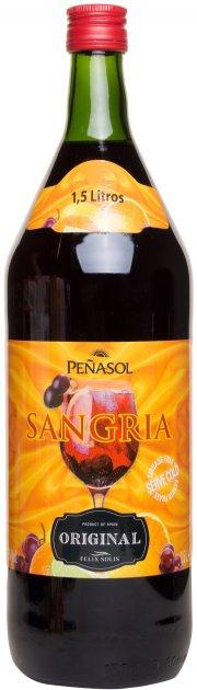 Винный напиток Penasol Sangria красный 1.5 л 7% (8410702005005) - изображение 1