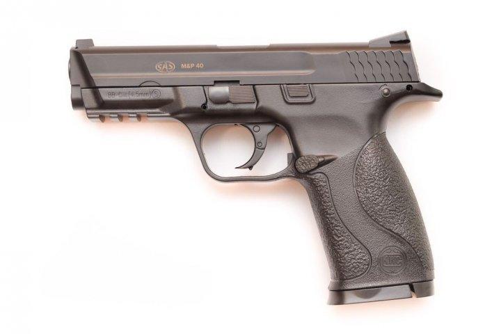 Пневматический пистолет SAS MP-40 (пластик) - зображення 1
