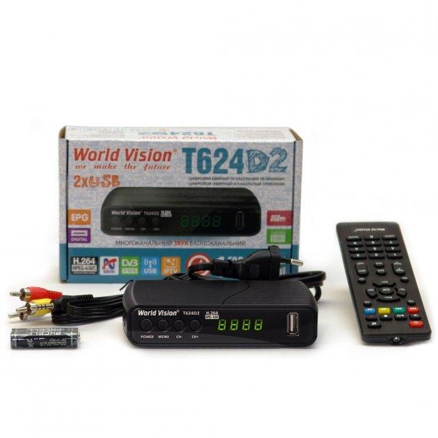 ТВ-ресивер World Vision T624D2 - изображение 1