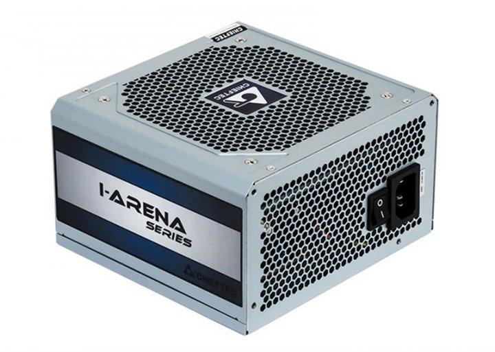Блок питания Chieftec GPC-500S, ATX 2.3, APFC, 12cm fan, КПД 80%, bulk - изображение 1
