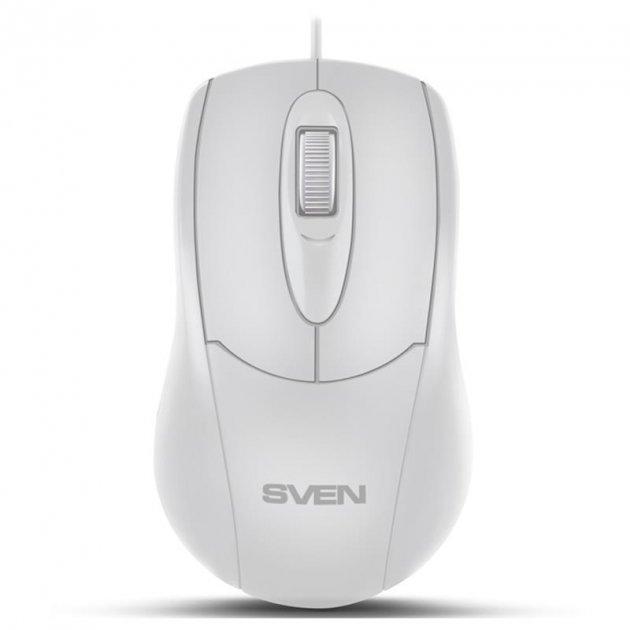 Миша Sven RX-110 White USB - зображення 1