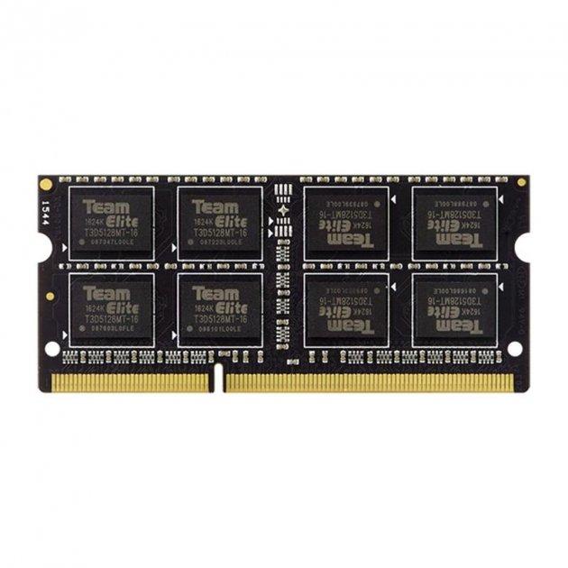 Модуль памяти SO-DIMM 4GB/1333 DDR3 Team (TED34G1333C9-S01) - изображение 1