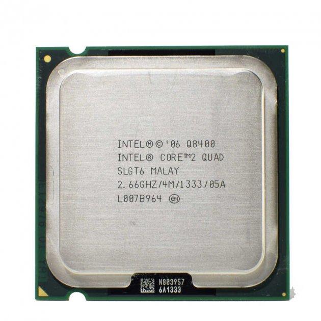 Процессор Intel Core2 Quad Q8400 LGA775 2.7GHz/ 4 MB/ 1333 Mhz s775 Tray Б/У - изображение 1