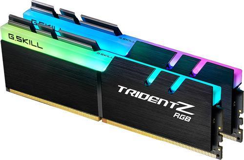 Модуль памяти G.Skill DDR4 16Gb (2x8) Trident Z 4133 Mhz (F4-4133C19D-16GTZA), б/в - зображення 1