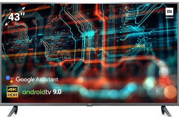 "Телевізор Xiaomi Mi LED TV 4S 43"" UHD 4K (L43M5-5ARU) - зображення 1"