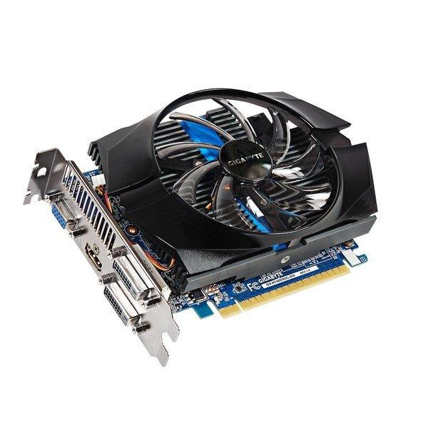 Відеокарта Gigabyte PCI-Ex GeForce GT 740 OC 2048MB GDDR5 (128bit) (1072/5000) (VGA, 2 x DVI, HDMI) (GV-N740D5OC-2GI) Б/В - зображення 1
