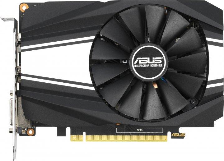 Asus PCI-Ex GeForce GTX 1650 Super Phoenix O4G OC 4GB GDDR6 (128bit) (1530/12002) (DVI, HDMI, DisplayPort) (PH-GTX1650S-O4G) - зображення 1