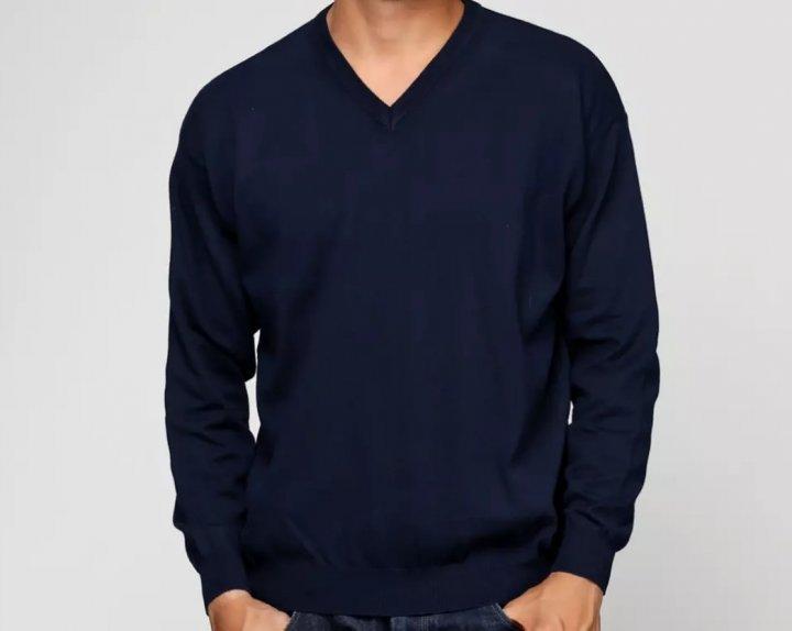 Пуловер Barbieri S Темно-синий (1112-3) - изображение 1