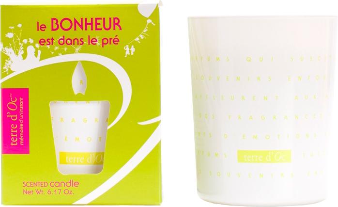 Парфюмированная свеча Terre d'Oc Прогулка по лугу 175 г (3700324425349) - изображение 1