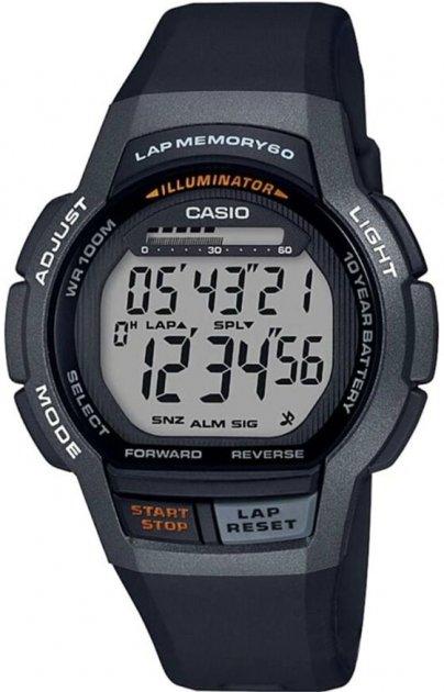Чоловічий годинник CASIO WS-1000H-1AVEF - зображення 1
